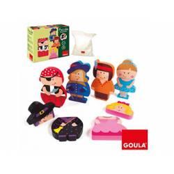 Puzzle a partir de 1 año Personajes magnéticos marca Goula
