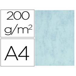 Cartulina marmoleada DIN A4 Azul