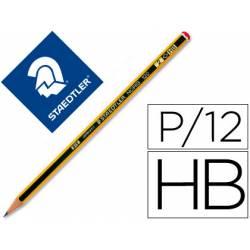Lapices de grafito Staedtler noris n.2 HB unidad
