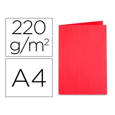 Subcarpeta Exacompta Foldyne din A4 250 gr rojo