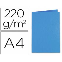 Subcarpeta Exacompta Foldyne din A4 250 gr azul oscuro