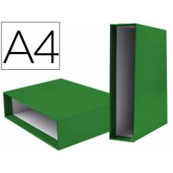 Caja archivador Liderpapel de palanca Din A4 documenta Verde