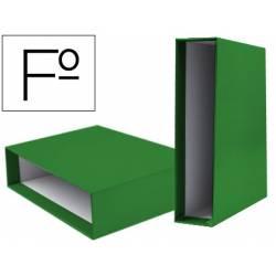 Caja archivador Liderpapel de palanca Folio documenta Verde