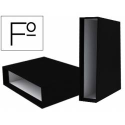 Caja archivador Liderpapel de palanca Folio documenta Negro