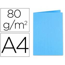 Subcarpeta Exacompta din A4 80 g/m2 azul turquesa