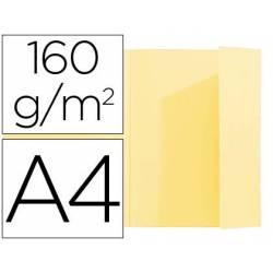 Subcarpeta Exacompta nature future din A4 amarillo 160 g/m2 solapa interior