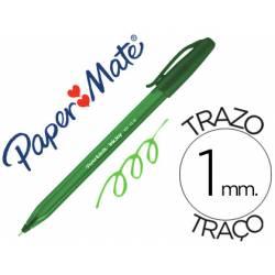 Boligrafo Paper Mate Inkjoy 100 1 mm Verde