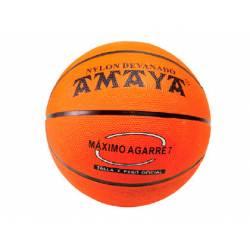 Balon de baloncesto caucho Naranja Nº7 marca Amaya