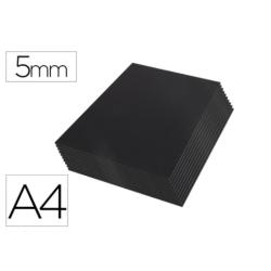 Carton pluma Liderpapel doble cara negro Din A4