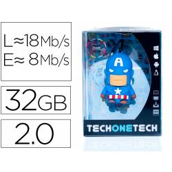 MEMORIA USB TECH ON TECH PENDRIVE SUPER A 32 GB