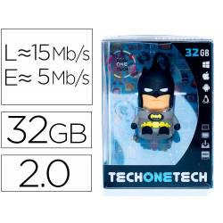 MEMORIA USB TECH ON TECH PENDRIVE SUPER BAT 32 GB
