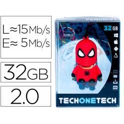 MEMORIA USB TECH ON TECH PENDRIVE SUPER SPIDER 32 GB