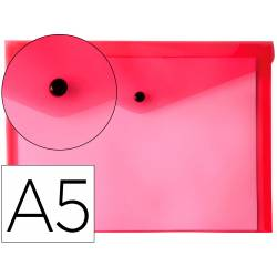 Carpeta sobre Liderpapel broche rojo Din A5