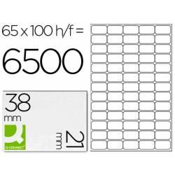 Etiquetas Adhesivas marca Q-Connect 38,1 x 21,2 mm