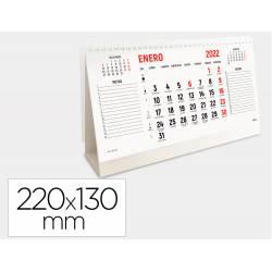 CALENDARIO ESPIRAL TRIANGULAR MARCA LIDERPAPEL 2022 22X13 CM PAPEL 120 GR