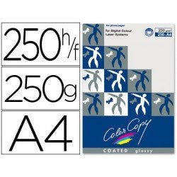 Papel multifuncion Mondi Color Copy A4 250 g/m2 Brillo