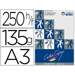 Papel multifuncion Mondi Color Copy A3 135 g/m2 Brillo