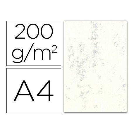 Cartulina marmoleada DIN A4 Gris