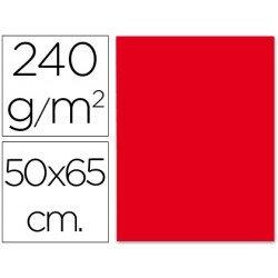 Cartulina Liderpapel rojo 240 g/m2