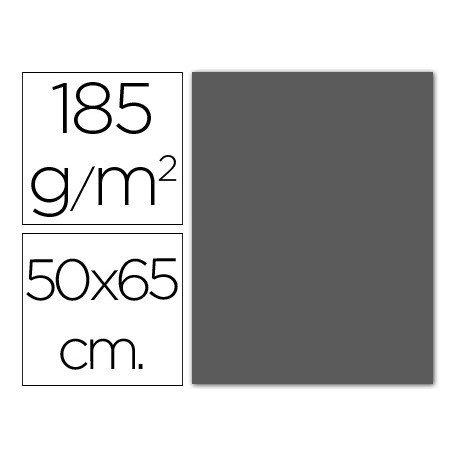 Cartulina Guarro gris plomo 500 x 650 mm 185 g/m2