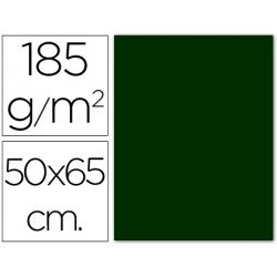 Cartulina Guarro verde amazona 500 x 650 mm de 185 g/m2