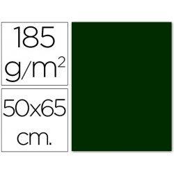 Cartulina Guarro verde amazona 500 x 650 mm de 185 g/m2