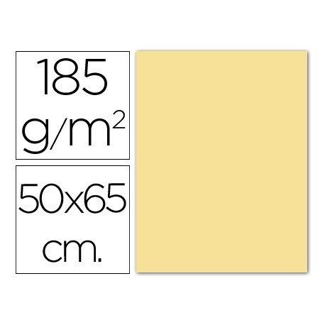 Cartulina Guarro crema 500 x 650 mm 185 g/m2