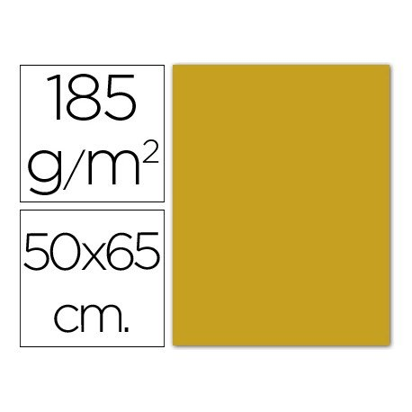 Cartulina Guarro cuero 500 x 650 mm 185 g/m2