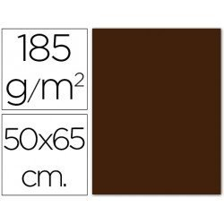 Cartulina Guarro marron 500 x 650 mm 185 g/m2