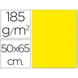 Cartulina Guarro amarillo canario 500 x 650 mm 185 gm2