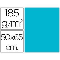 Cartulina Guarro azul turquesa 500 x 650 mm de 185 g/m2