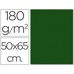 Cartulina Guarro verde abeto 500 x 650 mm 185 g/m2