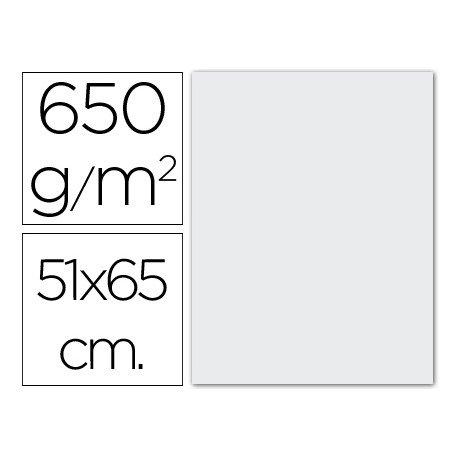 Cartulina extra blanca Vilaseca 510 x 650 mm 650 g/ m2