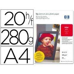 Papel Foto Premium 280 g/m2 Din A4 HP