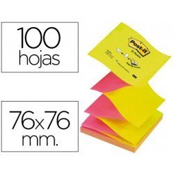 Bloc de notas adhesivas Z-Notes Post-it ®