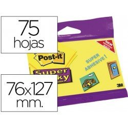 Bloc quita y pon Super Sticky Post-it ®