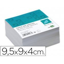 Recambio Liderpapel multitaco blanco 400 hojas