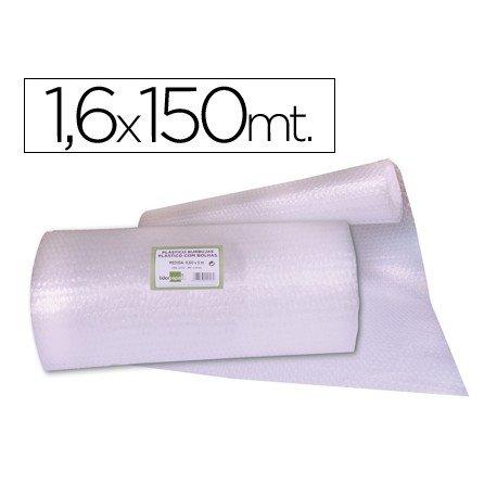 Rollo plastico con burbujas 1,60x150M