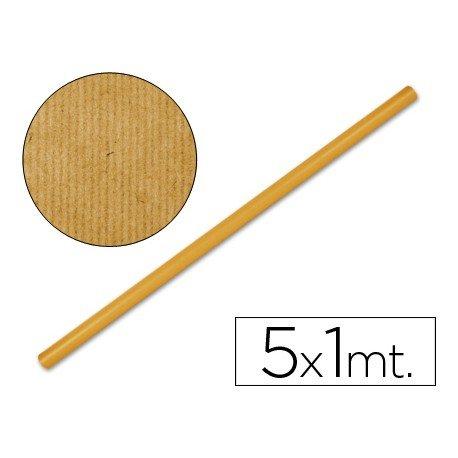 Bobina papel kraft Liderpapel 5 x 1 m naranja