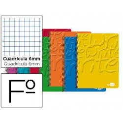Bloc Liderpapel folio Write cuadricula 6 mm