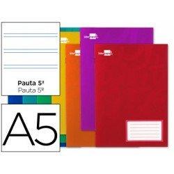 Libreta escolar Din A5 grapada Liderpapel pauta 2.5 mm