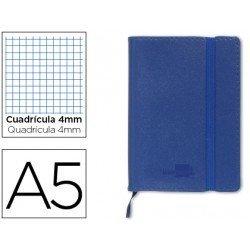 Cuaderno Liderpapel Din A5 encolada Tapa simil piel