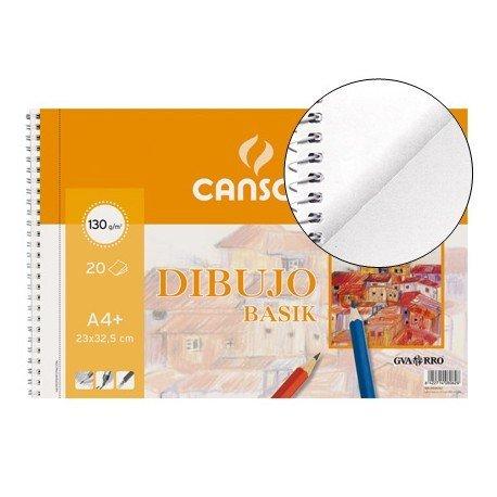 Bloc de dibujo Canson Din A4 espiral Microperforado