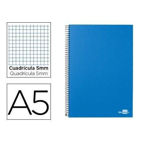 Bloc Din A5 espiral Microperforado serie Paper Coat Liderpapel