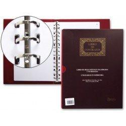Miquelrius Libro Registro de Contratos tamaño Din A4