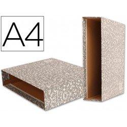 Caja archivador de palanca Liderpapel Classic Red Din A4