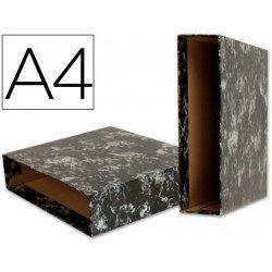 Caja archivador de palanca Liderpapel Classic Blue Din A4