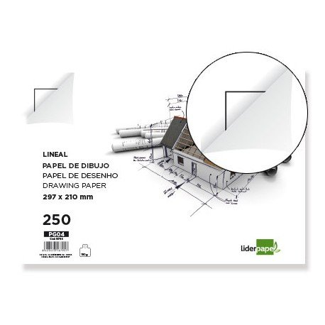 Papel dibujo Canson 210 x 297mm