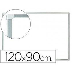 Pizarra Magnetica Blanca Lacada marco de aluminio 120x90 Q-Connect