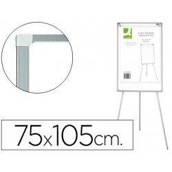 Pizarra Blanca Lacada Magnética Tripode 75x105 Q-Connect